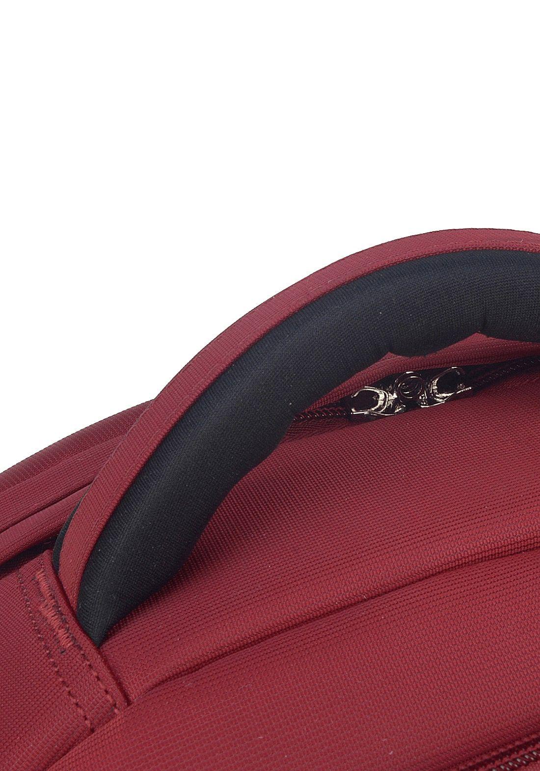 Mochila Executiva Notebook Polo King Vermelha Original
