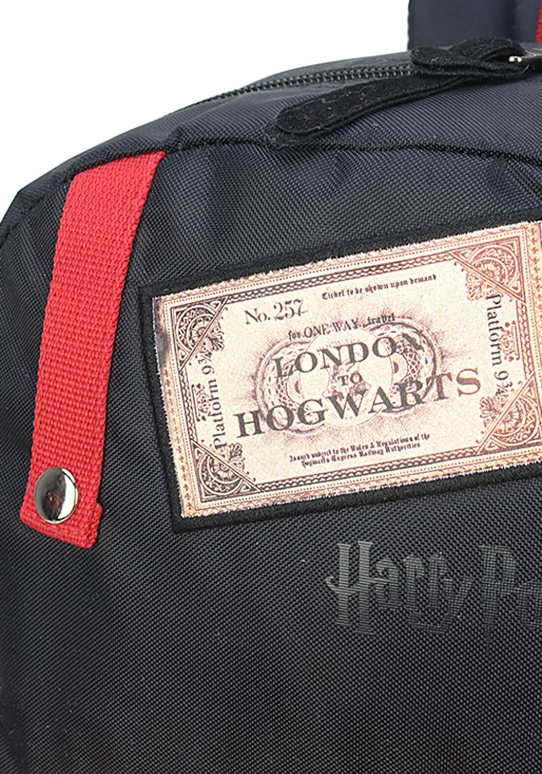 Mochila Harry Potter Carta Bilhete Plataforma 9 3/4 Original
