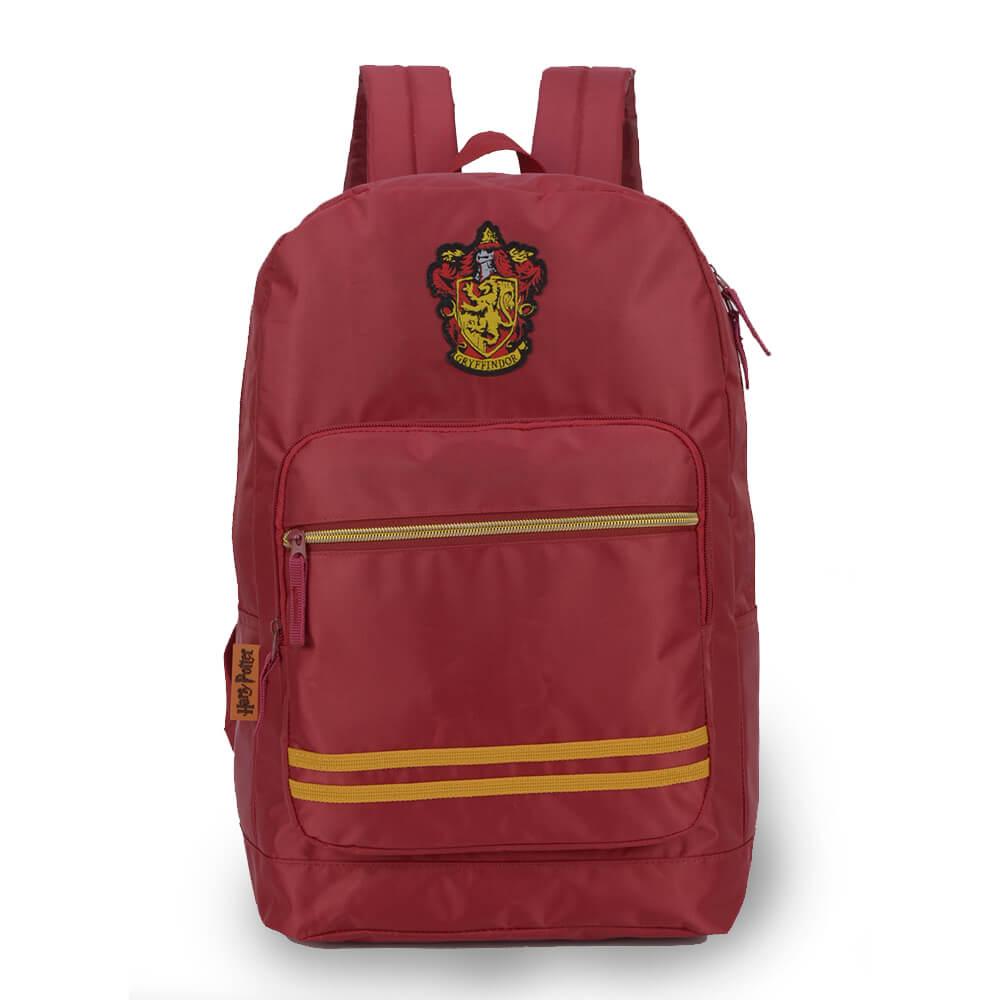 Mochila Harry Potter Gryffindor Grifinória Original Vermelha