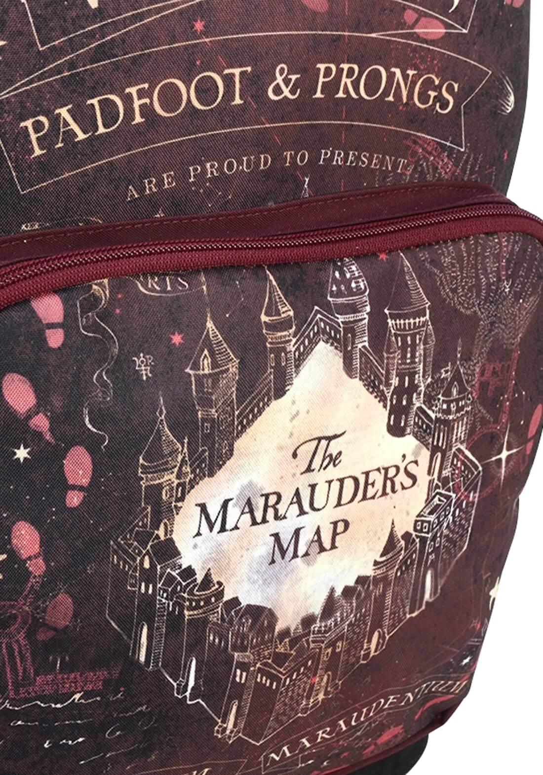Mochila Harry Potter Mapa do Maroto The Maraude's Map Origin