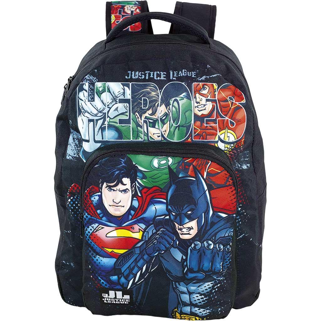 Mochila Liga da Justiça Batman Superman Flash Original