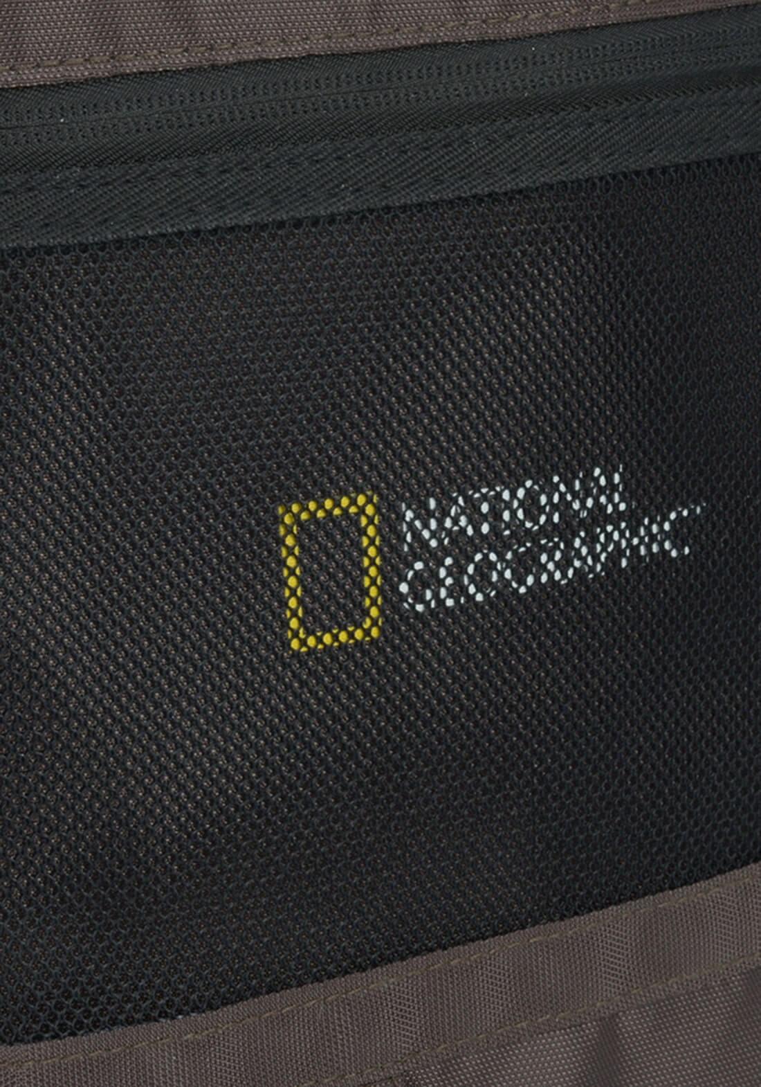 Mochila National Geografic Notebook Marrom Original