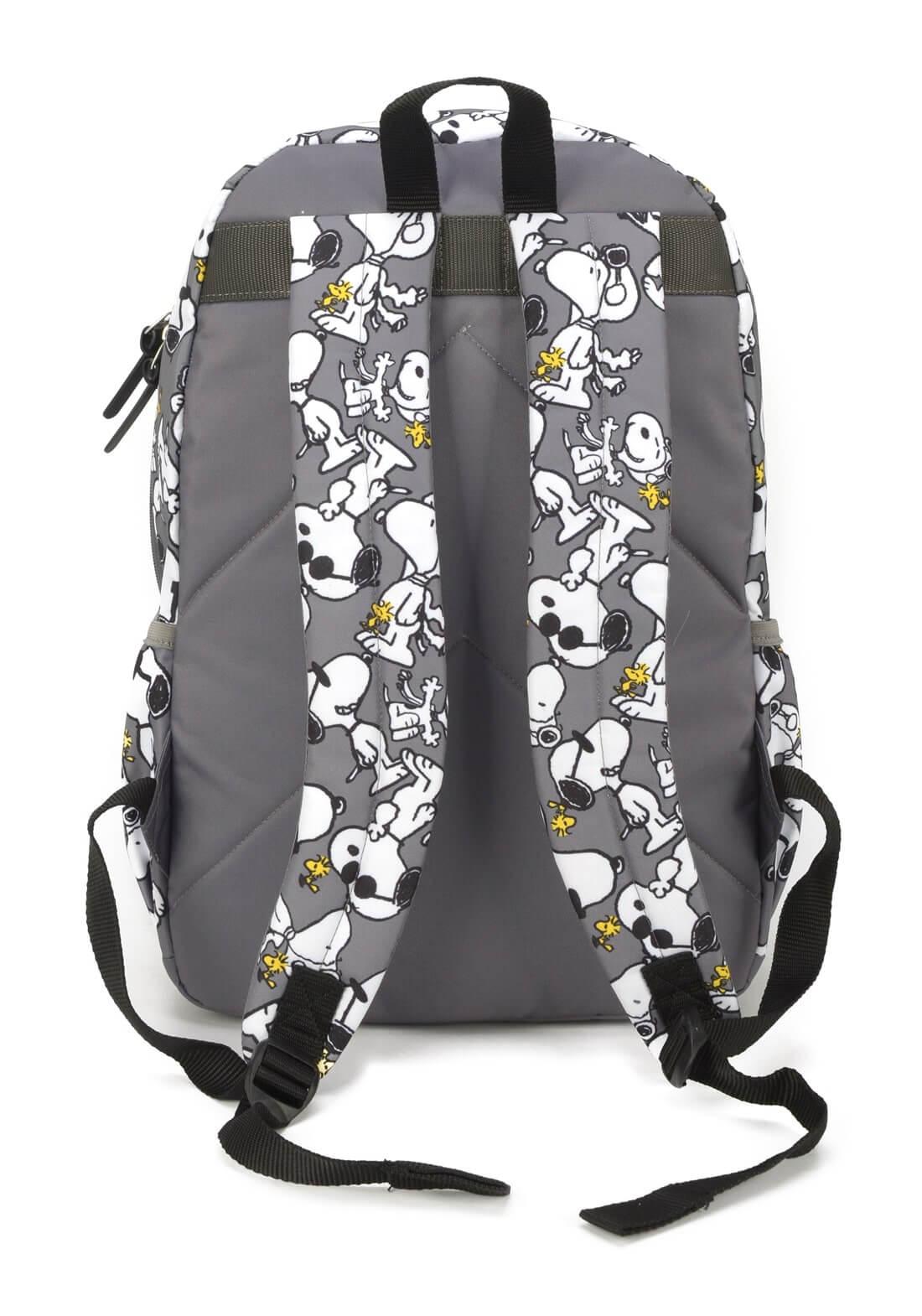 Mochila Notebook Peaunuts Snoopy by Up4You Cinza Original