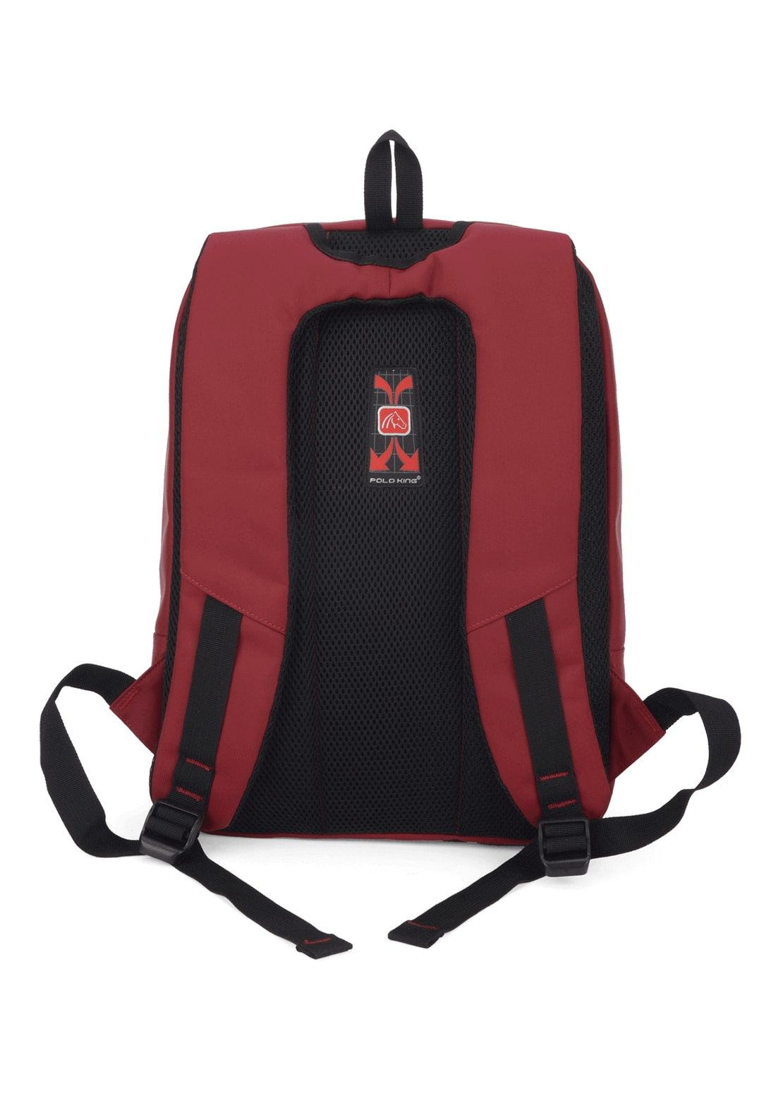 Mochila Notebook Polo King Vermelha Executiva Original