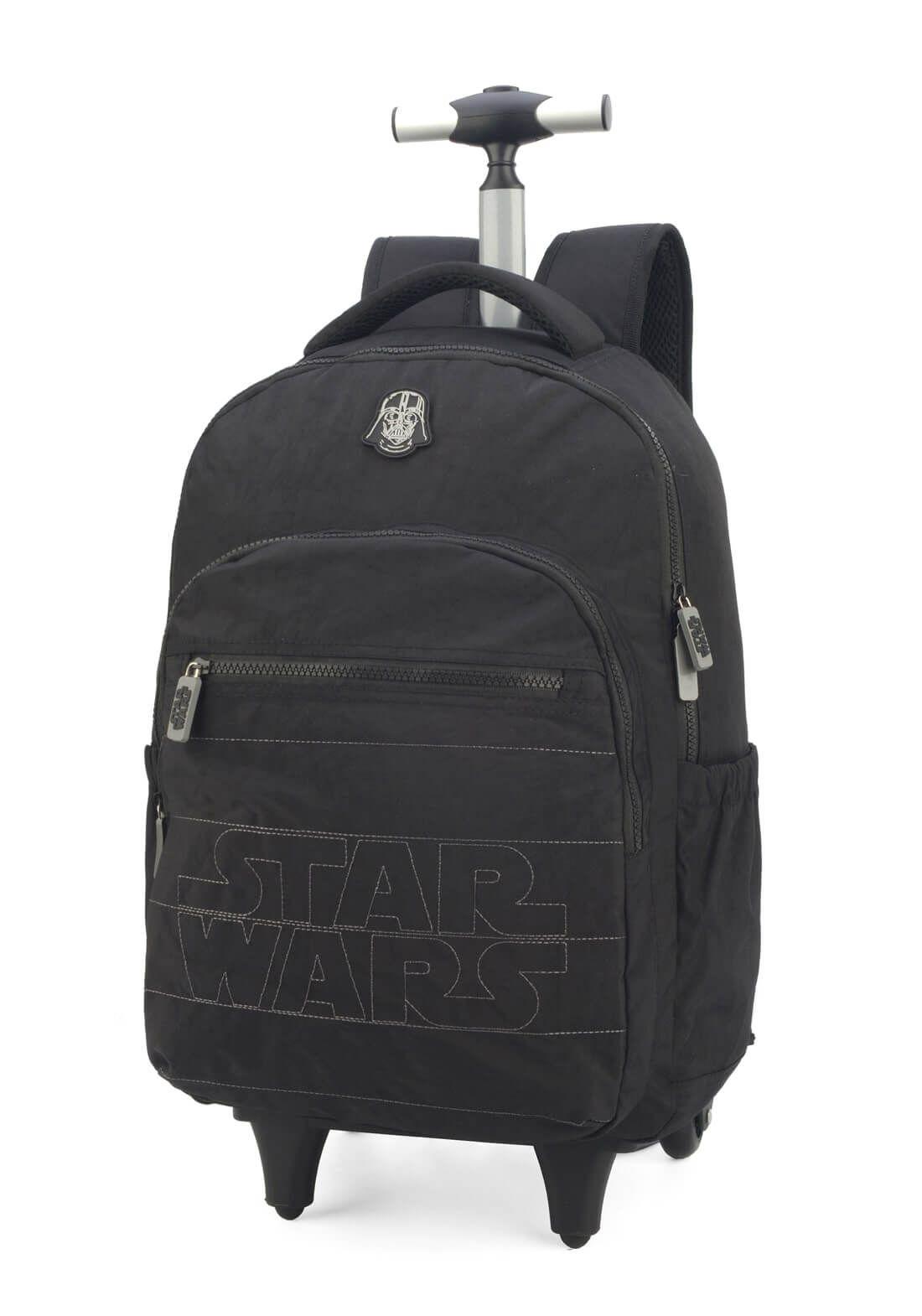 Mochila Rodinha Darth Vader Star Wars Guerra nas Estrelas