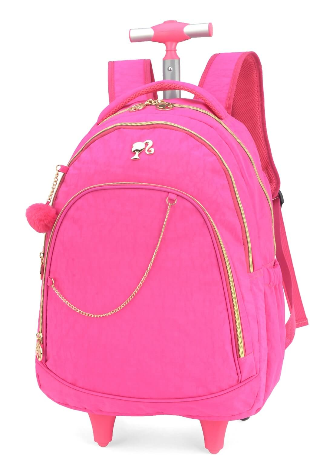 Mochila Rodinhas Barbie Mochilete Notebook Barbie Original R