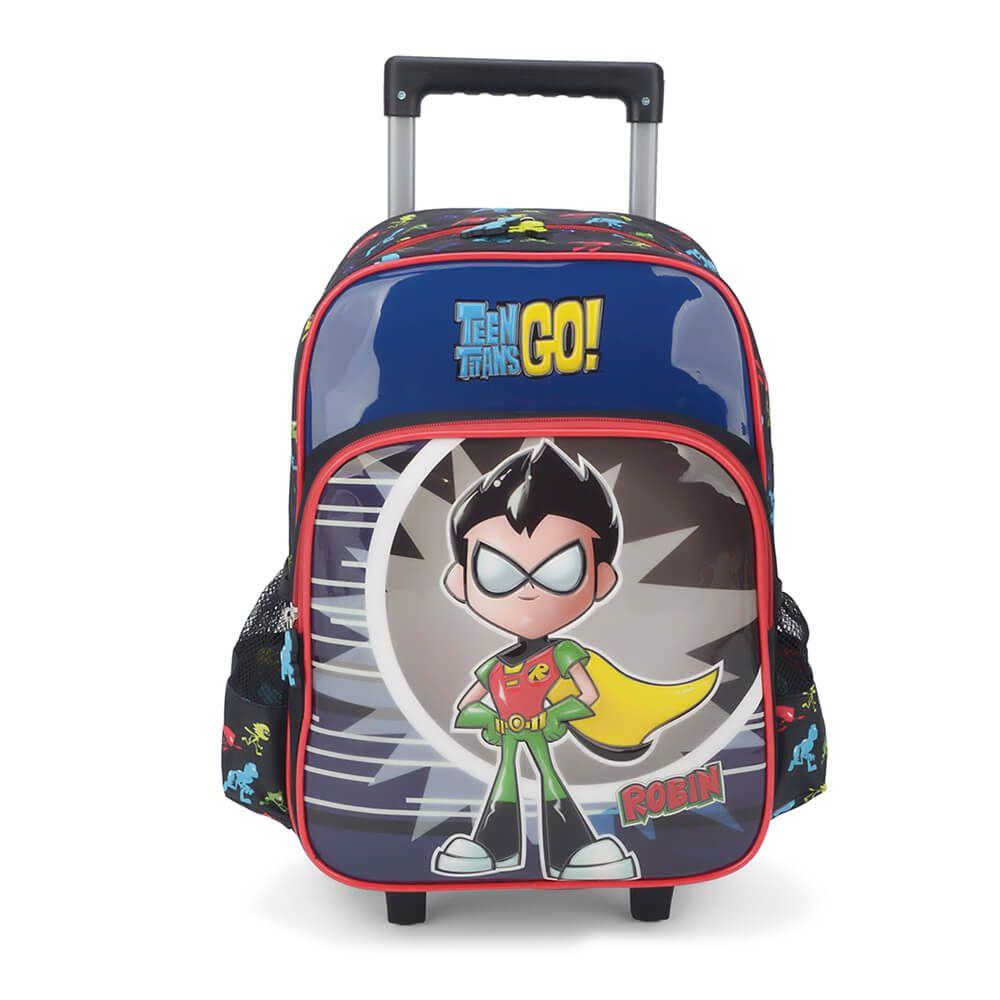 Mochila Rodinhas Teen Titans Go Robin Original Jovens Titãs