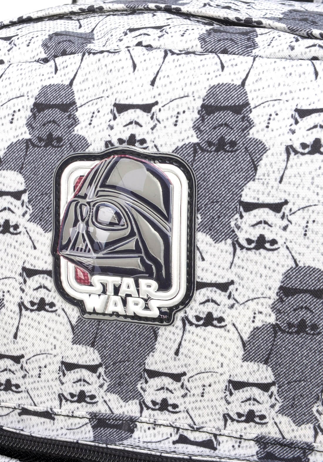 Mochila Star Wars Costas Rogue One Branco Produto Original