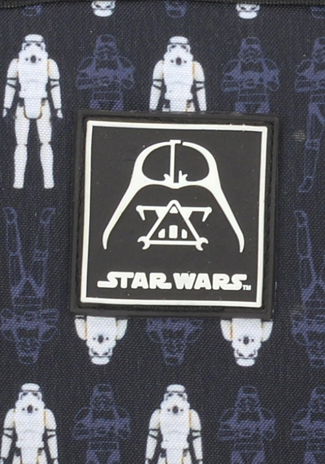 Mochila Star Wars Darth Vader Preta Garantia Original NF