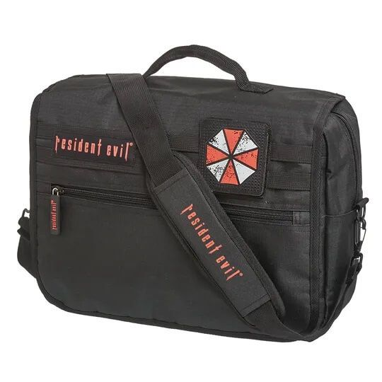 Pasta Carteiro Bolsa Notebook Resident Evil Umbrella Corp NF