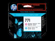 Cabeça Original Vencida HP 771 Light Magenta & Light Cyan (CE019A)