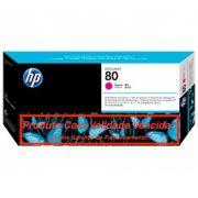 Cabeça Original Vencida HP 80 Magenta (C4822A)