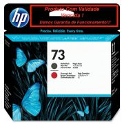 Cabeça Original Vencido HP 73 Matte Black & Chromatic Red (CD949A)