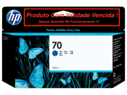 Cartucho Original Vencido HP 70 Blue (C9458A) 130ml