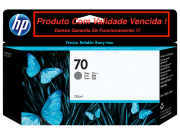 Cartucho Original Vencido HP 70 Gray (C9450A) 130ml
