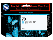 Cartucho Original Vencido HP 70 Light Cyan (C9390A) 130ml