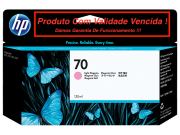 Cartucho Original Vencido HP 70 Light Magenta (C9455A) 130ml