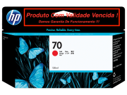 Cartucho Original Vencido HP 70 Red (C9456A) 130ml