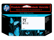 Cartucho Original Vencido HP 72 Gray (C9374A) 130ml