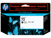 Cartucho Original Vencido HP 72 Matte Black (C9403A) 130ml
