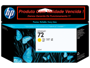 Cartucho Original Vencido HP 72 Yellow (C9373A) 130ml