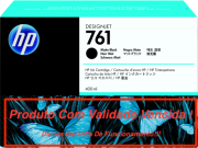 Cartucho Original Vencido HP 761 Matte Black  (CM991A) 400ml