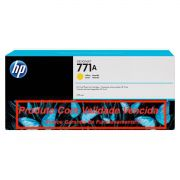 Cartucho Original Vencido HP 771A Yellow (B6Y18A) 775ml