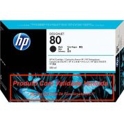 Cartucho Original Vencido HP 80 Black (C4871A) 350ml