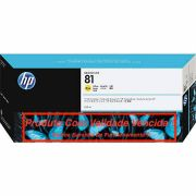 Cartucho Original Vencido HP 81 Yellow (C4933A) 680ml