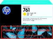Cartucho Original Vencido HP 761 Yellow  (CM992A) 400ml