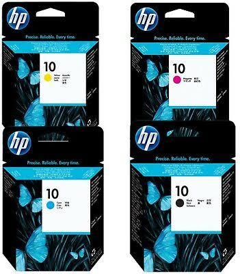CABEÇA ORIGINAL VENCIDA HP 10 BLACK (C4800A), CYAN (C4801A), MAGENTA (C4802A), YELLOW (C4803A)