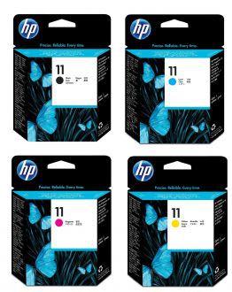 CABEÇA ORIGINAL VENCIDA HP 11 BLACK (C4810A), CYAN (C4811A), MAGENTA (C4812A), YELLOW (C4813A)