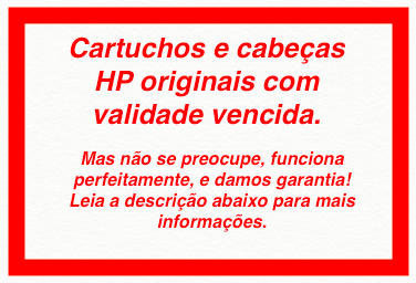 Cabeça Original Vencida HP 771 Magenta & Yellow (CE018A)