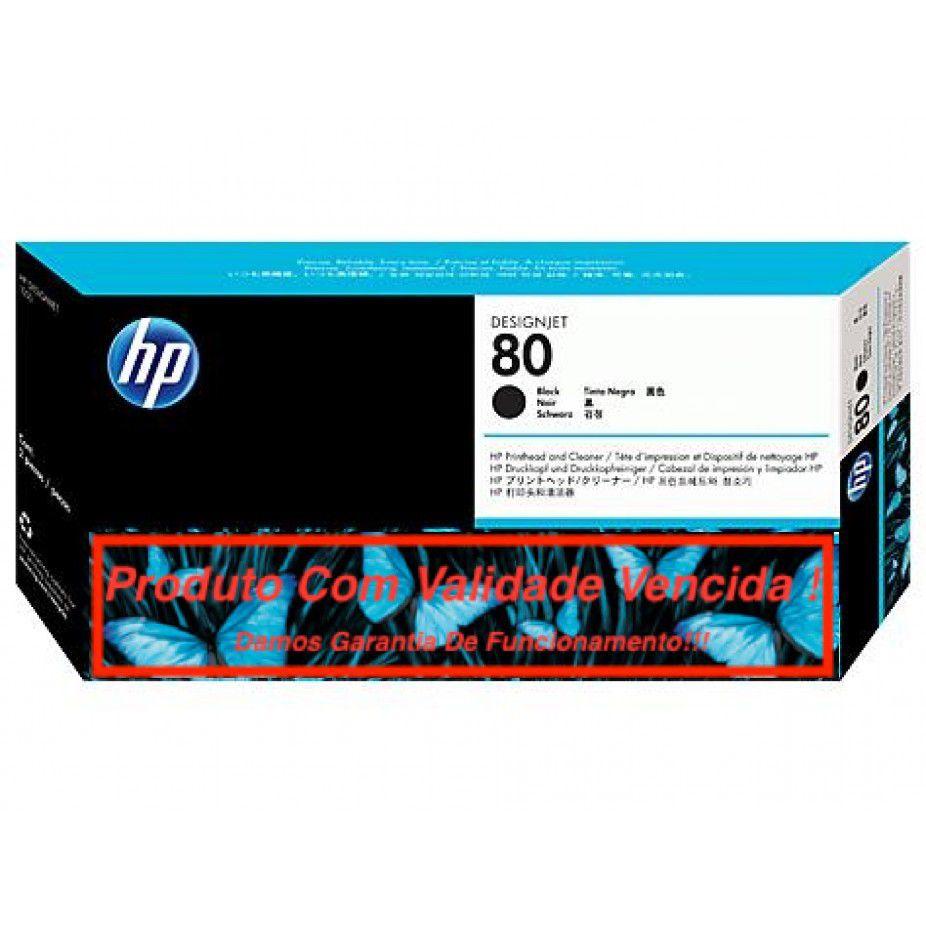Cabeça Original Vencida HP 80 Black (C4820A)
