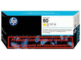 Cabeça Original Vencida HP 80 Yellow (C4823A)