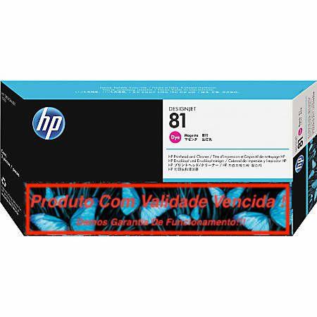 Cabeça Original Vencida HP 81 Magenta (C4952A)