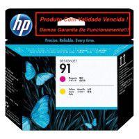 Cabeça Original Vencida HP 91 Magenta & Yellow (C9461A)