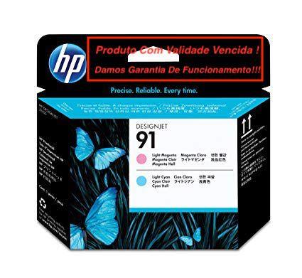 Cabeça Original Vencida HP 91 Light Magenta & Light Cyan (C9462A)