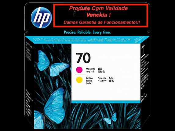 Cabeça Original Vencida HP 70 Magenta & Yellow (C9406A)