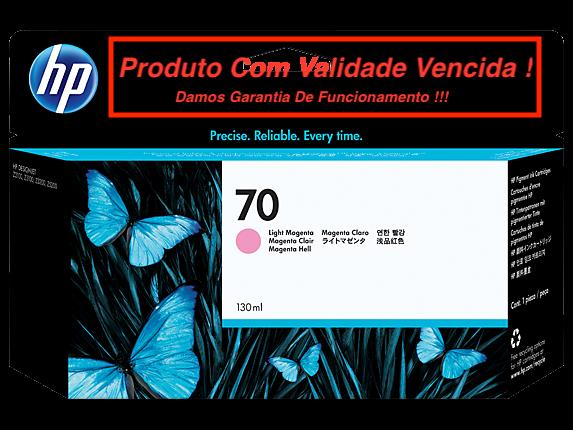 Cartucho Original Vencido HP 70 Light Magenta (C9455A) 130ml