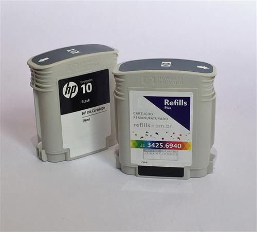 Cartucho Remanufaturado HP 10 Black (C4844A)