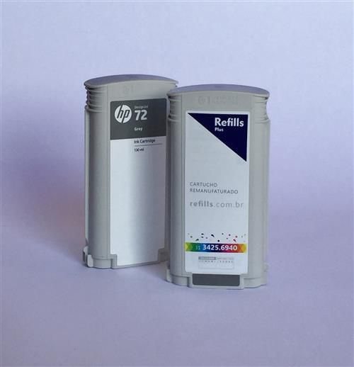 Cartucho Remanufaturado HP 72 Gray (C9374A)