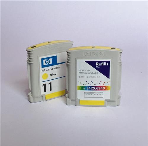Cartucho Remanufaturado HP 11 Yellow (C4838A)