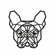 Decorativo 2D - Buldogue Francês