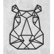 Decorativo 2D - Hipopótamo