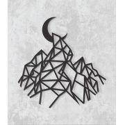 Decorativo 2D - Montanha geométrica