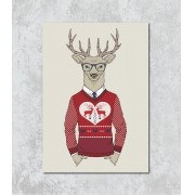 Decorativo - Alce natalino