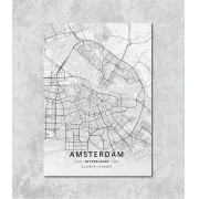 Decorativo -  Amsterdam map
