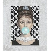 Decorativo - Audrey Hepburn Art Pop