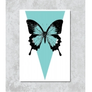 Decorativo - Borboleta Azul